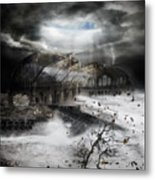 Eye Of The Storm Metal Print by Mary Hood