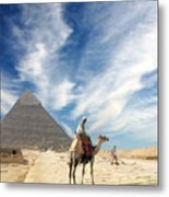 Eye On Egypt Metal Print