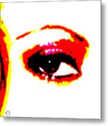 Eye Peace 1 Metal Print