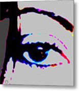 Eye Peace 2 Metal Print by Eikoni Images