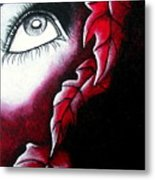 Eye See Red Metal Print