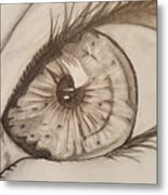 Eyeball 1 Metal Print