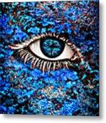 Eyelash  Metal Print by Yosi Cupano