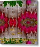 Eyes Made Of The Nature Metal Print
