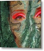 Eyes Of Emerald Metal Print