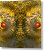 Eyes Of The Garden-1 Metal Print