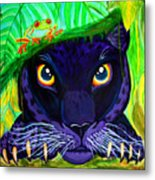 Eyes Of The Rainforest Metal Print