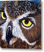 Eyes Of Wisdom Metal Print