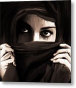 Eyes On You  Metal Print