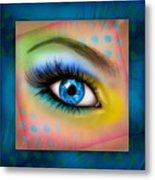 Eyetraction Metal Print