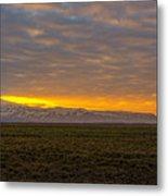 Eyjafjallajokull Sunrise Iceland Metal Print