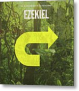 Ezekiel Books Of The Bible Series Old Testament Minimal Poster Art Number 26 Metal Print