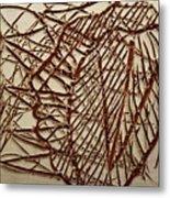 Ezra - Tile Metal Print