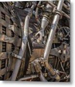 F-1 Rocket Engine Metal Print