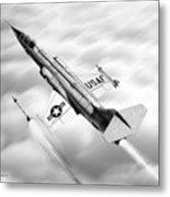 F-104a Starfighter Metal Print