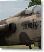 F -105 Thunderchief - 2 Metal Print