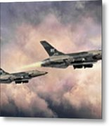 F-105 Thunderchief Metal Print