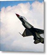 F-16 Falcon Metal Print