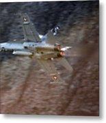 F 18 Hornet Metal Print