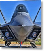 F-22 Raptor 1 Metal Print