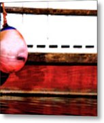 F Dock Buoy Metal Print