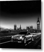 F-type In London Metal Print