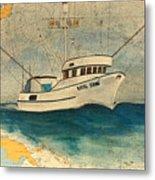 F/v Royal Dawn Tuna Fishing Boat Metal Print