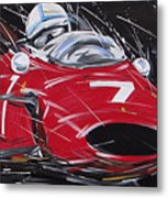 F1 Surtees Ferrari 1964 Metal Print