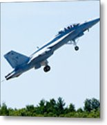 F18 - Take Off Metal Print