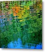 Fabian Pond Reflections3 Metal Print