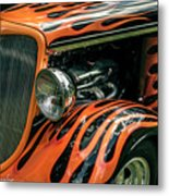 Fabulous Flames  Metal Print