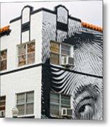 Face House, Calle Ocho Metal Print