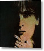 Face In The Shadow Metal Print