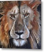 Face Of Majesty Metal Print