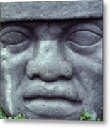 Face On Bali Metal Print