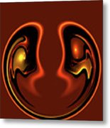Face To Face Metal Print