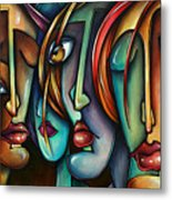 'face Us' Metal Print