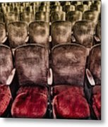 Face Your Audience Metal Print by Evelina Kremsdorf