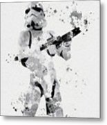 Faceless Enforcer Metal Print