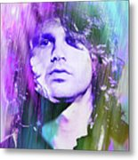 Faces Come Out Of The Rain Metal Print