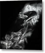 Faces In Smoke  1253 Metal Print