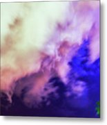 Faces In The Clouds 002 Metal Print