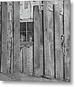 Faces In The Window Metal Print