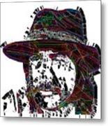 Faces Of Life 18 Charles Bronson Metal Print