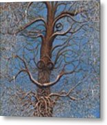 Facing A Frosty Sunset 2010 Metal Print