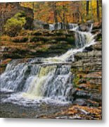 Factory Falls - Childs State Park Metal Print
