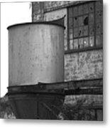 Factory Hopper Metal Print