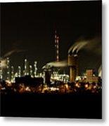 Factory Metal Print by Nailia Schwarz
