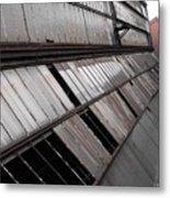Factory Windows 1 Metal Print
