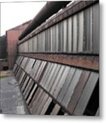 Factory Windows 2 Metal Print